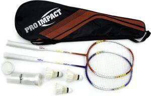 Pro Impact Badminton Set