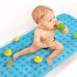 Top 8 Best Non Slip Bath Mat For Baby (2021 Review)