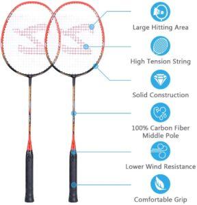 best badminton racket under 100