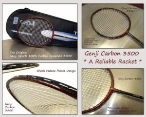 genji sports titanium package racket set