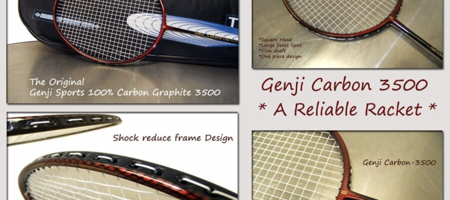 genji sports titanium package racket set