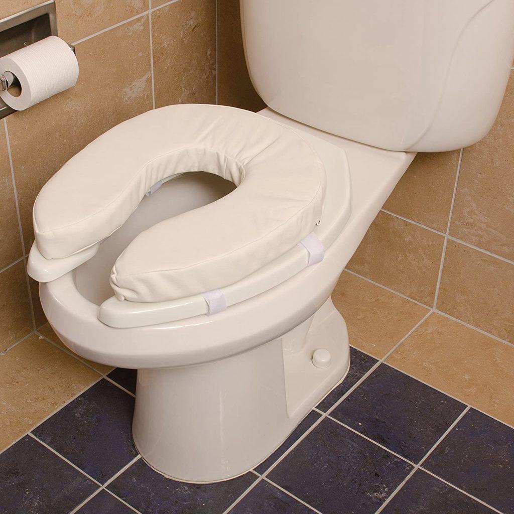 padded toilet seat cushion