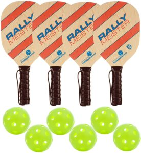 Rally Meister Pickleball Paddle Deluxe Bundle