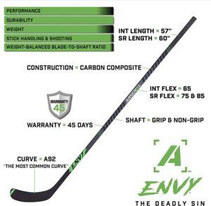 carbon fiber hockey stick