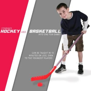 plastic hockey stick