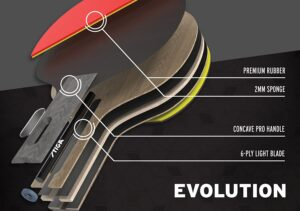 stiga evolution paddle
