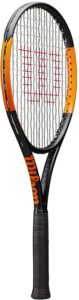 wilson burn tennis racket