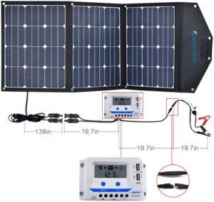 120 watt solar panel kit
