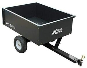 Blue Hawk Steel Dump Cart