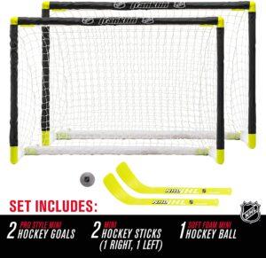 Franklin Sports Knee Hockey Goal Set