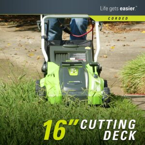 Greenworks 16 inch Electric Lawn Mower
