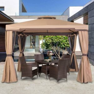 SUNCROWN Outdoor  Garden Gazebo
