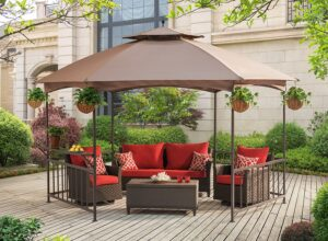 Sunjoy D-GZ076PST-D Madison Gazebo Softtop