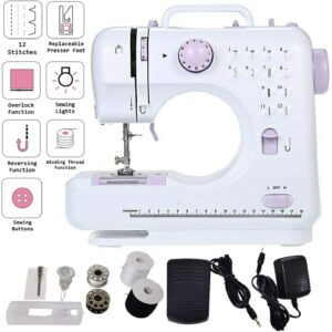 TooFu Beginner Locking Sewing Machine