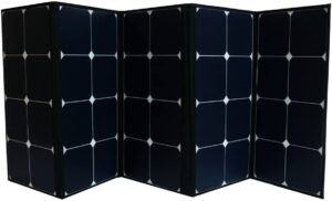 best 120w folding solar panel