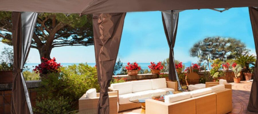best gazebos for windy areas