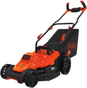 black and decker electric lawn mower reviews