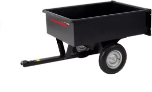 precision products dump cart