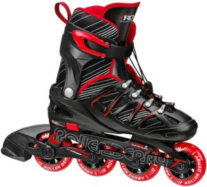 roller derby stinger 5.2 adjustable girls inline skates