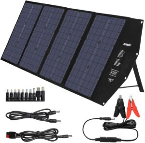 suaoki 100w foldable solar panel
