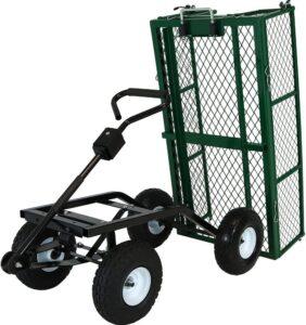 sunnydaze rolling garden cart
