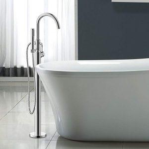 Floor Mount Bathtub Faucet