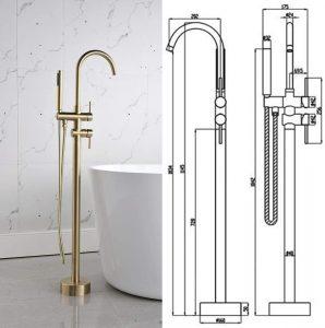 moen freestanding tub faucet