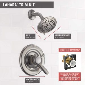 Delta Lahara Shower Trim