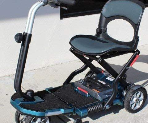Ev Rider Transport Folding Mobility Scooter
