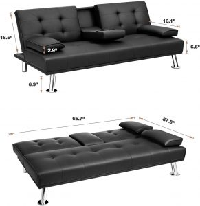Flamaker Futon Sofa Bed