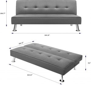 Homall Futon Sofa Bed