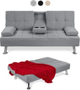 Metal Futon Frame Sofa Bed