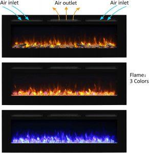 PuraFlame Alice Electric Fireplace
