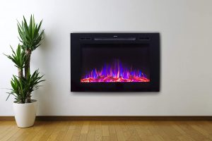 Touchstone Recessed Electric Fireplace