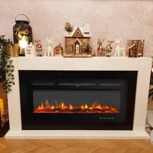 auag electric fireplace