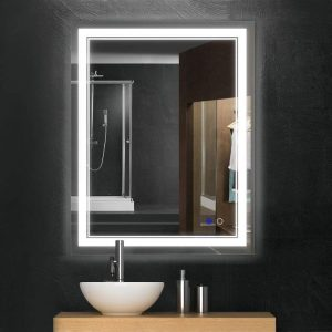 bathroom led vanity mirror