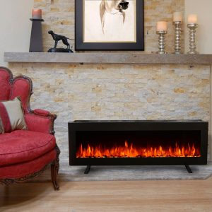 best electric fireplace for large room