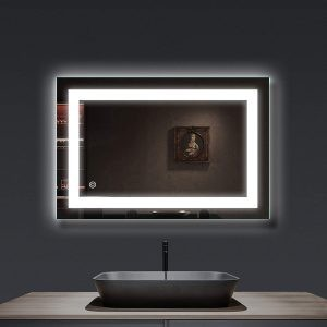 best led backlit mirror