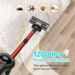 Top 10 Best Cordless Vacuum Cleaner for Carpet (2020 Reviews)