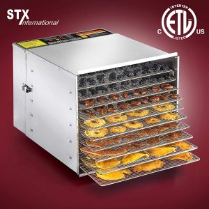 STX Commercial Stainless Steel Food Dehydrator