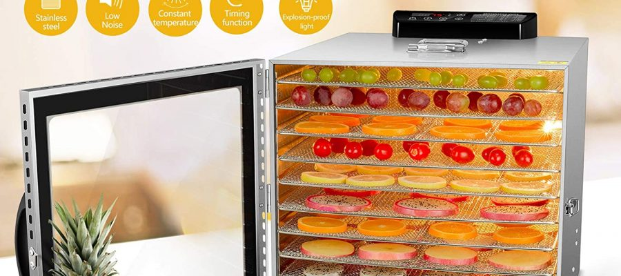 VVinRC Commercial Food Dehydrator