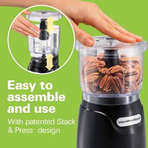 Hamilton Beach Mini 3-Cup Food Processor
