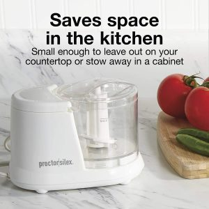 Proctor Silex Durable Mini 1.5 Cup Food Processor