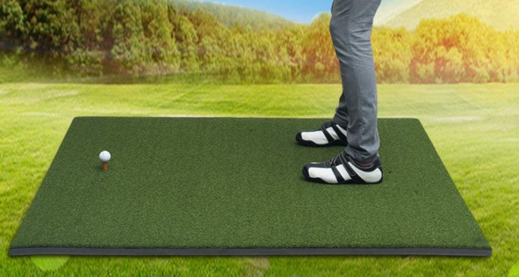 professional golf hitting mats