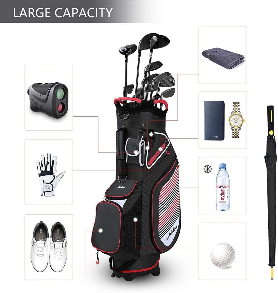 LONGCHAO Golf Stand Bag