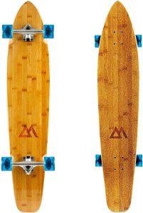 Magneto 44 inch Kicktail Cruiser Longboard Skateboard