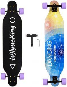 WjlyueKing 41 Inch Longboard Skateboard